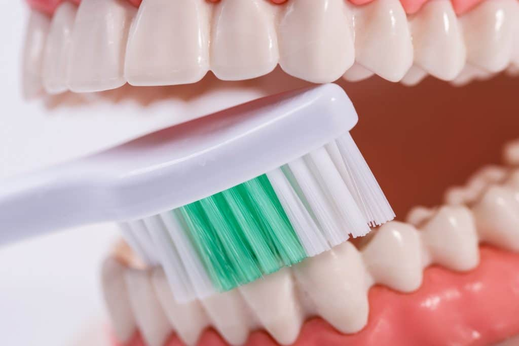 Spazzolamento dei colletti scoperti con spazzolino normale