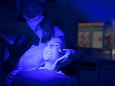 sbiancamento dentale igiene studio bellemo
